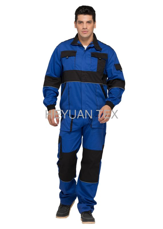 Functional Heavy Duty Workwear / Mens Work Clothes With Pen Pocket For Industry